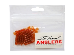 "Island Anglers - Sagai Slapper 1.5"" - COPPER BROWN - Soft Plastic Swim Bait 