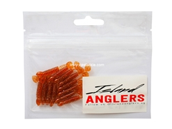 "Island Anglers - Wobbler 1.5"" - COPPER BROWN - Soft Plastic Swim Bait 