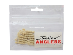 "Island Anglers - Wobbler 1.5"" - OFF WHITE - Soft Plastic Swim Bait 