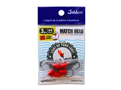 Jabbers - Match Head 3gram - RED - Jighead | Eastackle