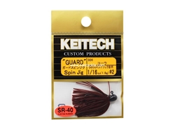 Keitech - Guard Spin Jig - COLA 006 (1/16oz) - Tungsten Skirted Jig Head | Eastackle