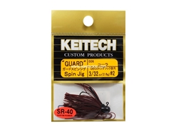 Keitech - Guard Spin Jig - COLA 006 (3/32oz) - Tungsten Skirted Jig Head | Eastackle