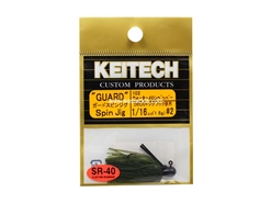Keitech - Guard Spin Jig - WATERMELON PP 102 (1/16oz) - Tungsten Skirted Jig Head | Eastackle