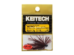 Keitech - Mono Spin Jig - COLA 006 (1/16oz) - Tungsten Skirted Jig Head | Eastackle