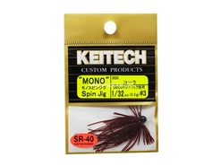 Keitech - Mono Spin Jig - COLA 006 (1/32oz) - Tungsten Skirted Jig Head | Eastackle