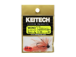 Keitech - Mono Spin Jig - SAKURA 108 (1/20oz) - Tungsten Skirted Jig Head | Eastackle