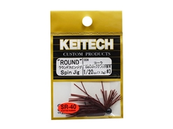 Keitech - Round Spin Jig - COLA 006 (1/20oz) - Tungsten Skirted Jig Head | Eastackle
