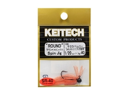 Keitech - Round Spin Jig - SAKURA 108 (1/20oz) - Tungsten Skirted Jig Head | Eastackle