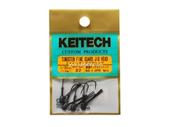 Keitech - Tungsten Fine Guard Jig Head - #2 (1/20oz) - Tungsten Jig Head | Eastackle