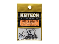 Keitech - Tungsten Fine Guard Jig Head - #3 (1/16oz) - Tungsten Jig Head | Eastackle