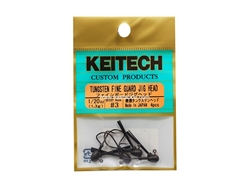 Keitech - Tungsten Fine Guard Jig Head - #3 (1/20oz) - Tungsten Jig Head | Eastackle