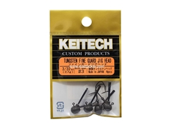 Keitech - Tungsten Fine Guard Jig Head - #3 (3/32oz) - Tungsten Jig Head | Eastackle