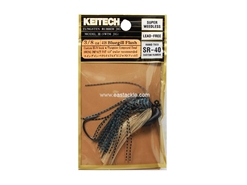 Keitech - Tungsten Rubber Jig - MODEL III - BLUEGILL FLASH 418 (3/8oz) - Skirted Jig Heads | Eastackle
