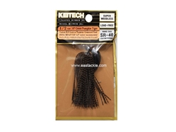 Keitech - Tungsten Rubber Jig - MODEL III - GREEN PUMPKIN TIGER 107 (1/2oz) - Skirted Jig Heads | Eastackle