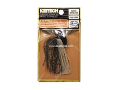 Keitech - Tungsten Rubber Jig - MODEL III - SILVER FLASH MINNOW 416 (1/2oz) - Skirted Jig Heads | Eastackle