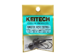 Keitech - Tungsten Super Football Jig Head - #2/0 (1/2oz) - Tungsten Jig Head | Eastackle