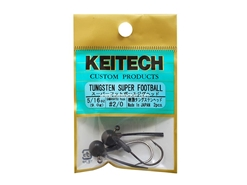Keitech - Tungsten Super Football Jig Head - #2/0 (3/8oz) - Tungsten Jig Head | Eastackle