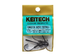 Keitech - Tungsten Super Football Jig Head - #2/0 (5/16oz) - Tungsten Jig Head | Eastackle