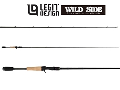 Legit Design - Wild Side WSC63MH Short Concept - Bait Casting Rod | Eastackle