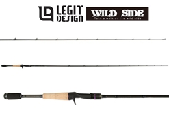 Legit Design - Wild Side WSC64L - Bait Finesse Casting Rod | Eastackle