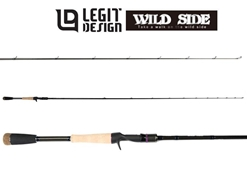 Legit Design - Wild Side WSC72H+ Power Game Special - Bait Casting Rod | Eastackle