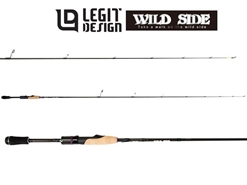 Legit Design - Wild Side WSS-ST59UL Short Concept - Finesse Spinning Rod | Eastackle