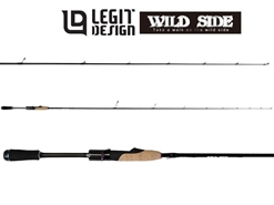Legit Design - Wild Side WSS-ST61UL Solid Tip - Finesse Spinning Rod | Eastackle