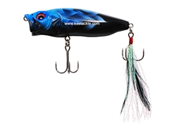 Megabass - 2018 PopMax - ILLUSION BLUE FLAME - Floating Popper | Eastackle