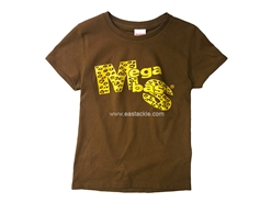 Megabass - ANIMAL LOGO T-Shirt (Ladies) BROWN
