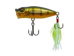 Megabass - Baby Pop-X - AL PEACOCK - Floating Popper | Eastackle