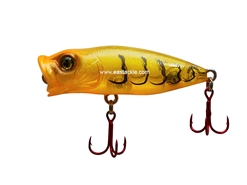 Megabass - Baby Pop-X SW Tuned - GLX DAYLIGHT SHRIMP - Floating Popper | Eastackle
