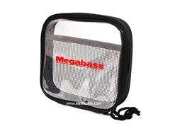Megabass - Clear Pouch - SMALL - Tackle Organiser | Eastackle