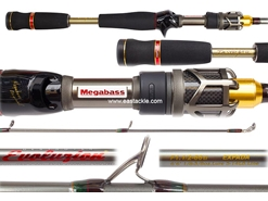 Megabass - Destroyer EVOLUZION (C40) - F1.1/2-66ti - Bait Casting Rod | Eastackle