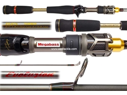 Megabass - Destroyer EVOLUZION (C40) - F2-67ti - Bait Casting Rod | Eastackle