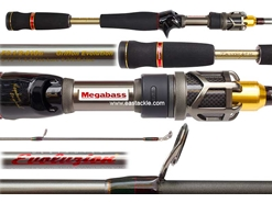 Megabass - Destroyer EVOLUZION (C40) - F3.1/2-610ti - GRIFFON EVOLUTION - Bait Casting Rod | Eastackle