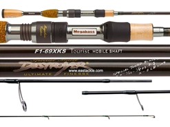 Megabass - Destroyer Kirisame - F1-69XKS - KIRISAME TOURIST MOBILE SHAFT - Finesse Spinning Rod