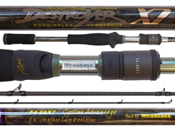 Megabass - Destroyer X7 - F4-68X7 - CYCLONE ADVANTAGE - Bait Casting Rod | Eastackle