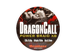 Megabass - DRAGONCALL POWER BRAID X8 - #1 (12lb)