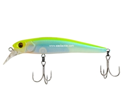 Megabass - Halibut 90 - FUZZY CHART LIME - Sinking Minnow | Eastackle