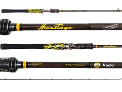 Megabass - Heritage F4-68XHT - Bait Casting Rod (Serial No. 40/99) | Eastackle