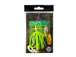 Megabass - i-SPIN 3/8oz (DW) - SWIMMING FROG - Sinking Spinning Bait | Eastackle