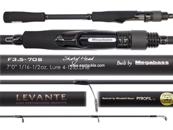 Megabass - Levante - SP F3.5-70S - SHAKEY HEAD - Bait Casting Rod | Eastackle