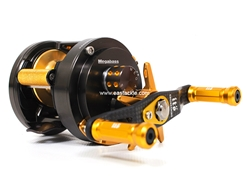 Megabass - Monoblock - ITO GAMBLER - RIGHT HAND - Bait Casting Reel | Eastackle