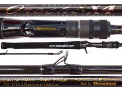 Megabass - Orochi X4 - F3.1/2-70X4 - SUPER MIRAGE - Bait Casting Rod | Eastackle