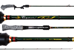 Megabass - Pagani Trad F3-56XPM (HUNTING BLACK SNAKE PATTERN GRIP) - Bait Casting Rod | Eastackle