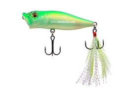 Megabass - Pop-X - CRACK LIME CHART - Floating Popper | Eastackle