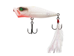 Megabass - PopX - WHITE BUTTERFLY - Floating Popper | Eastackle