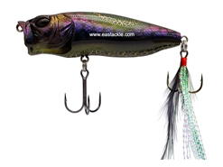 Megabass - PopMax - BLACK OROCHI - Floating Popper | Eastackle