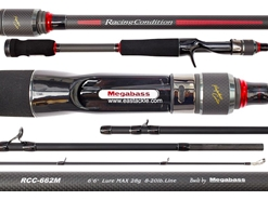 Megabass - Racing Condition World Edition - RCC-662M - Bait Casting Rod | Eastackle