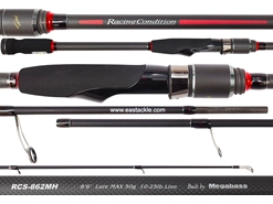 Megabass - Racing Condition World Edition - RCS-862MH - Spinning Rod | Eastackle